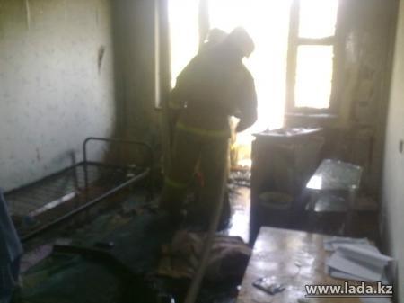 В Актау с начала года при пожарах погибли пять человек