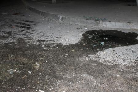 Сегодня между 26 и 28 «А» микрорайонами произошла авария с опрокидыванием автомобиля на бок