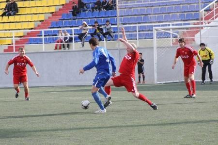 Сборная СССР выиграла у сборной Мангистау