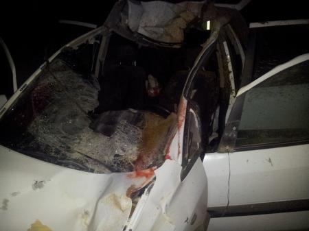 Авария на 69 км трассы Актау-Шетпе (ФОТО 18+)