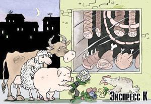 Казахстанскую тушенку делают из импортного мяса
