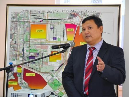 У недобросовестных инвесторов будут забирать участки на территории СЭЗ «Морпорт-Актау»