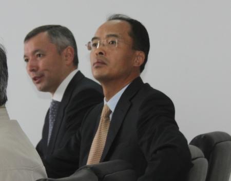 Аким области провел выездное совещание по проблемам строительства завода дорожных битумов