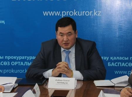 Талгат Алибаев: Жалоб на незаконные проверки со стороны представителей власти от предпринимателей Актау стало меньше