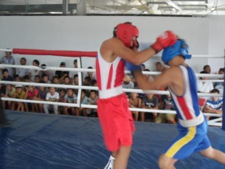 Мангистауские боксеры выступили на международном турнире в Западно-Казахстанской области