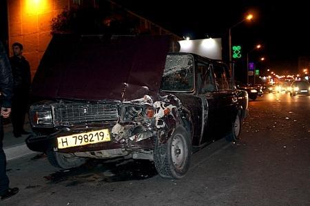 На центральной дороге Актау произошла авария