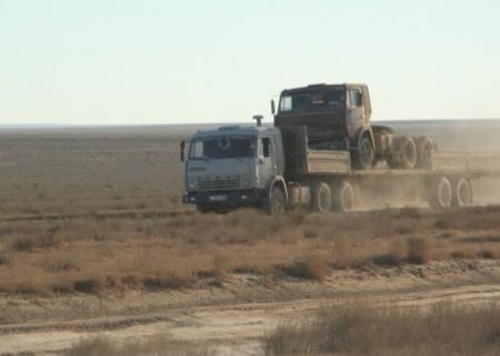 Абасс Шахин: Укладку асфальта первых 10 километров  дороги Бейнеу-Шетпе планируется завершить в 2012