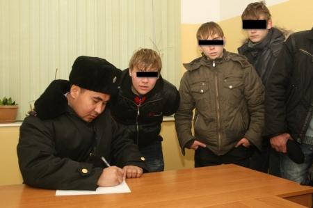 В Актау за три дня поставили на учет 33 несовершеннолетних
