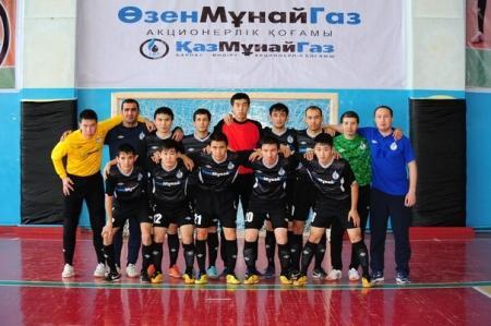 Футболисты из Жанаозена едет в Бишкек