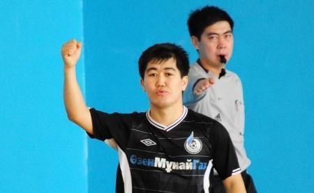 Команда из Жанаозена переиграла чемпиона Кыргызстана по футзалу (ДОБАВЛЕНО ВИДЕО)