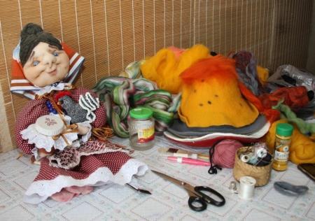 """Войлок """"наизнанку"""": секреты и полезные советы от Татьяны Пугачевой"""