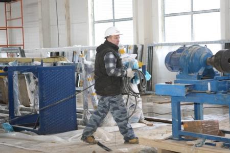 В Жанаозене строится новый завод по ремонту подземного оборудования