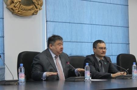 """Серик Оспанов: Меня заверили, что к концу 2013 года дорога """"Актау-Бейнеу"""" будет проложена"""