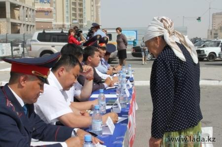 В Актау пройдет встреча сотрудников дорожной полиции с жителями города