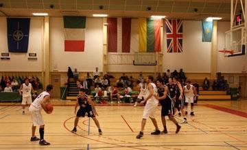 Сборная Вооруженных сил Казахстана по баскетболу приняла участие в международном турнире НАТО