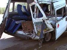 В Казахстане разбилась машина с юными хоккеистами
