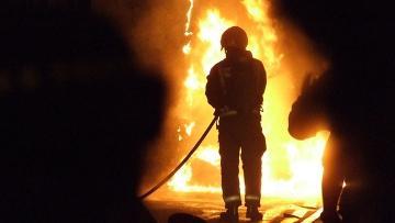 Школа-интернат сгорела в Жамбылской области, обнаружен труп