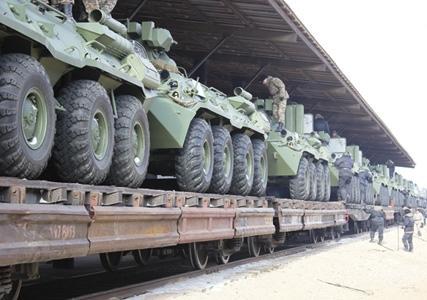 Морским пехотинцам части 25744, дислоцированной в Мангистауской области, в новом году придется осваивать новую технику