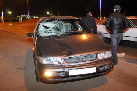 В Актау в результате ДТП девушка попала в больницу