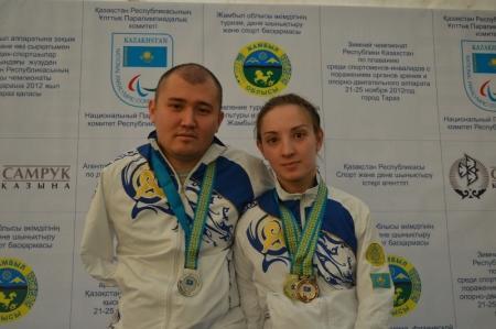 Актауские пловцы успешно выступили на чемпионате РК в Таразе