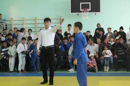 Открытый чемпионат Актау по дзюдо прошел в минувшие выходные в поселке Умирзак