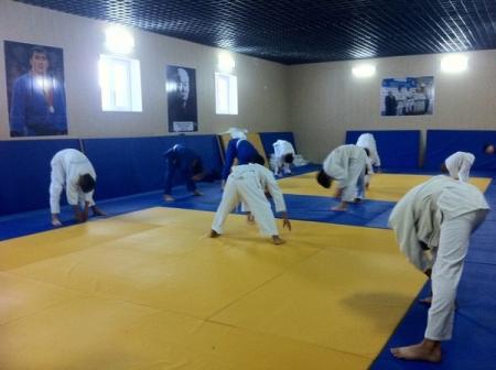 В Бейнеу открыт спортивный зал дзюдо
