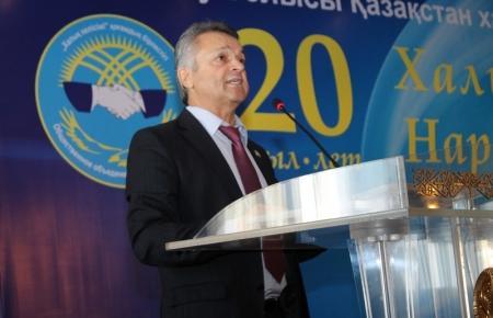 Сегодня состоялась XVI сессия Ассамблеи народа Казахстана Мангистауской области