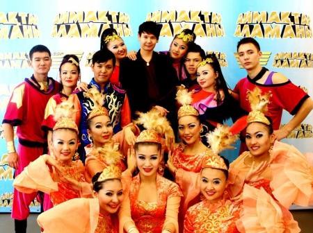Артисты и спортсмены из Мангистау приняли участие в съемках шоу «Аймактар аламаны»