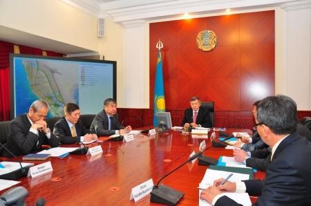 Аким области Бауржан Мухамеджанов провел очередное заседание архитектурно - градостроительного совета