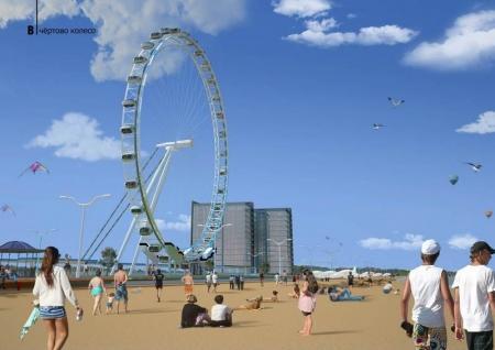 Пляж Актау планируют благоустроить по проекту дизайнерской компании из Южной Кореи
