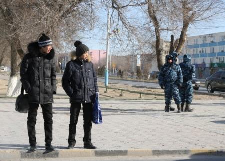 Амангельды Досаханов: «Обстановка в Жанаозене стабильная»