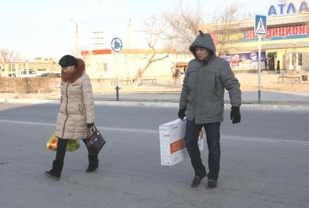 16 декабря в городе Жанаозен прошел спокойно и мирно