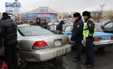 Водителям Актау приходится сталкиваться с фактами мошенничества при дорожно-транспортных проишествиях