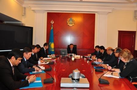 Аким Мангистауской области Бауржан Мухамеджанов провел заседание региональной комиссии  по вопросам борьбы с коррупцией