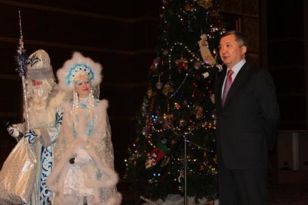 В Актау прошла Президентская ёлка