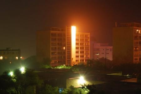 На освещение улиц Актау и пригородных населенных пунктов в 2013 году будет затрачено порядка 111 миллионов тенге