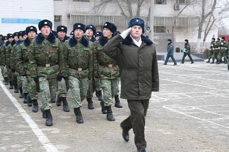 В Актау 170 новобранцев приняли военную присягу (ВИДЕО)