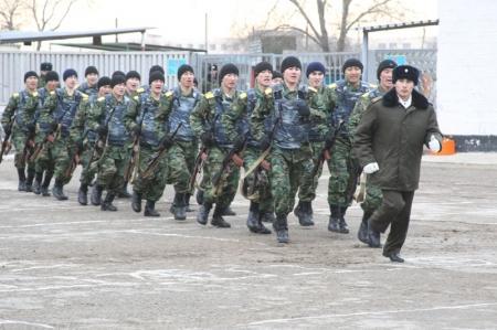 В Актау вынесен приговор солдату, самовольно покинувшему свою часть