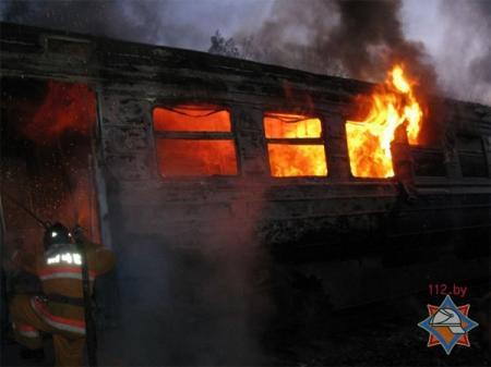 Пассажиры сгоревшего вагона поезда Атырау — Мангистау требуют возмещения ущерба