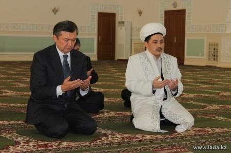 Для сбора средств на строительство мечети в городе Жанаозен создан общественный фонд «Имандылы? н?ры»