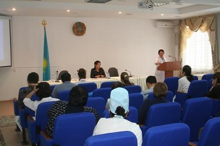 В Актау состоялся семинар врачей - трансфузиологов