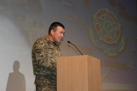 В Актау отметили День образования внутренних войск МВД РК