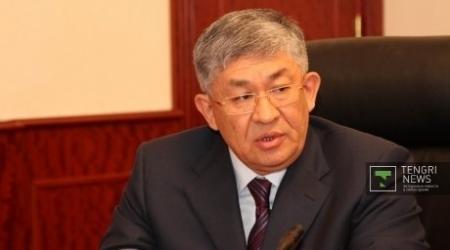 Кушербаев прибыл в терпящий бедствие район Жамбылской области