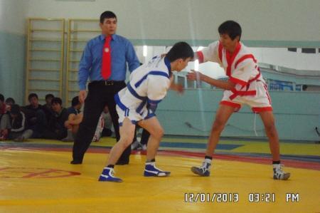 В Актау прошел областной турнир по борьбе казак куреси