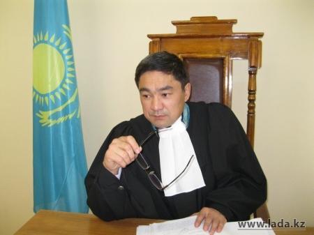 В Мангистауской области названо имя лучшего судьи 2012 года