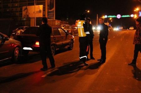 Цепная авария произошла в Актау между 9 микрорайоном и Ботаническим садом