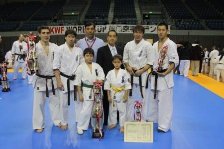 Актауские спортсмены стали бронзовыми призерами I Кубка мира по кекусин каратэ