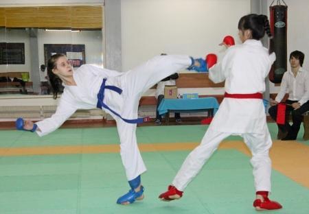 В Актау прошло открытое первенство по каратэ-до среди юниоров