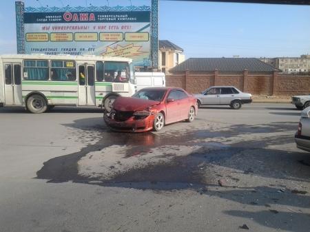 Авария у ТРК Актау