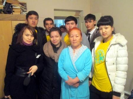 В Актау прошла благотворительная акция «Протяни руку помощи»